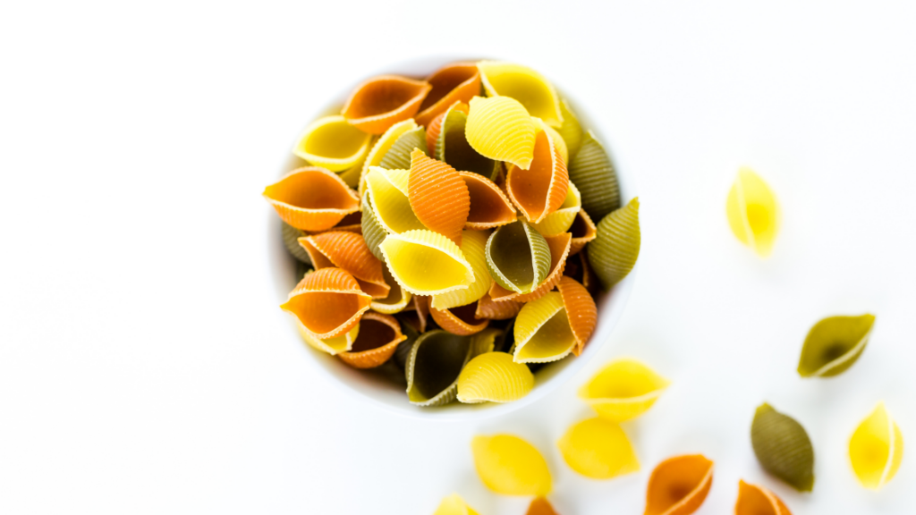Colourful Shell Pasta